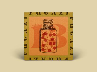 Fugazi 13 Songs fugazi illustration digital drawing typography art direction digital design graphic design