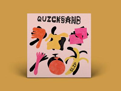 Quicksand - Slip album art quicksand band art direction digital design graphic design