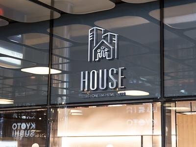 House Facility Management vector design branding logo
