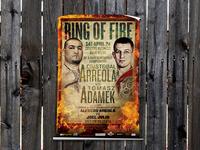 Arreola vs Adamek 'Ring of Fire'