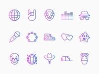 TouchTunes Genre Icons