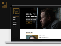 ZET - One Page Resume/Personal Portfolio
