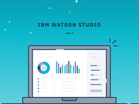 Loading Application Animation for Watson Studio