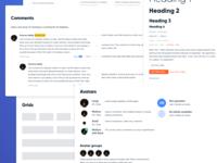 Design System - collage