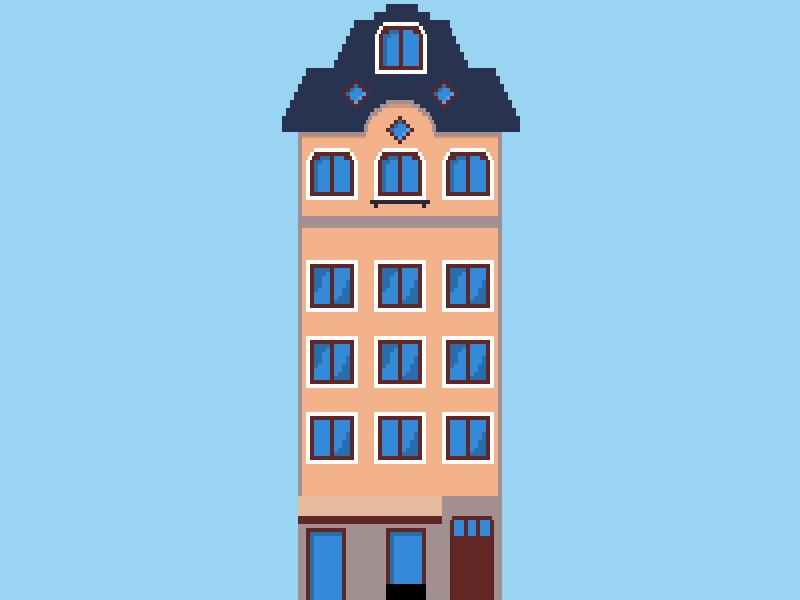 Building-1 building 8-bit