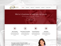 Corporate HR Website