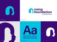 Nang Foundation Logo Design logo mark design brand identity logodesign logo