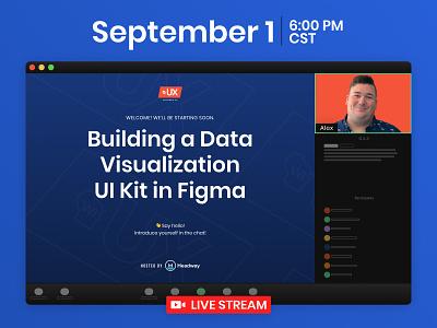 Building a Data Visualization UI Kit in Figma - Online Event ui event data visualizations graphs charts data
