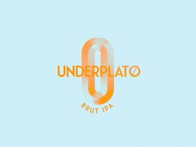 UNDERPLATØ DDH BRUT IPA Logo