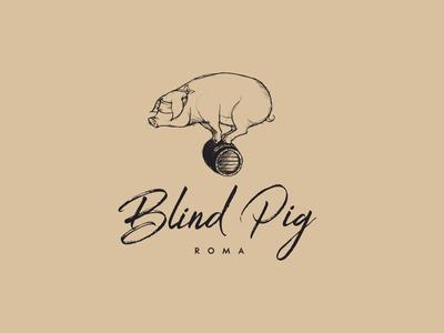 BLIND PIG Identity Logo