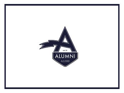 Alumni Logo Dark clothing logo branding
