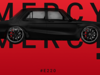 Mercy: Remember the E220 GLA  Mercedes 1972