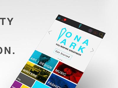 Ona Ark sideprojects concept appdesign creative ui inspiregreatness mvp