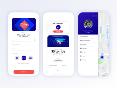 Rider App Concept