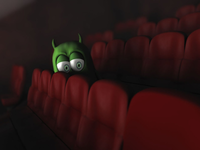 Gurkin to the movies
