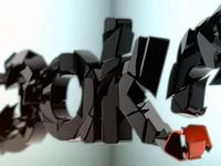 Speak logo bumper peek