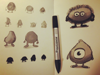 First conceptsketches
