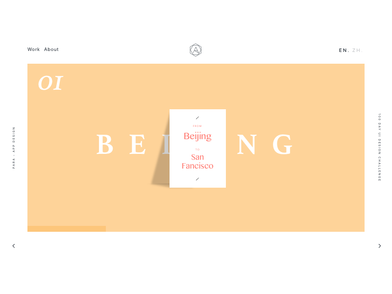 098 - Landing Page by Adelaide Wang | Dribbble | Dribbble