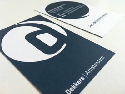 Dekkers Amsterdam dekkers amsterdam idfabriek cunodebruin cuno de bruin identiteitsfabriek identity logo