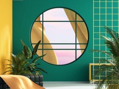 Interior Study redshift interior design interior 3d c4d