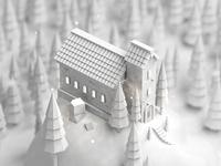 Church clay dribbble