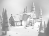 Pub Clay Render