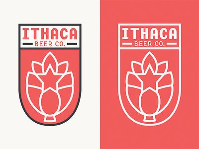 Ithaca Beer Co. WIP Debut debut beer logo