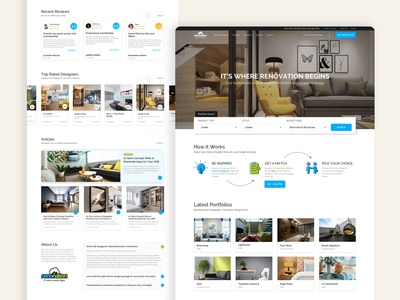 Renonation - Website Redesign