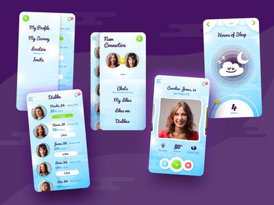 Dating App - According to your sleeping habit