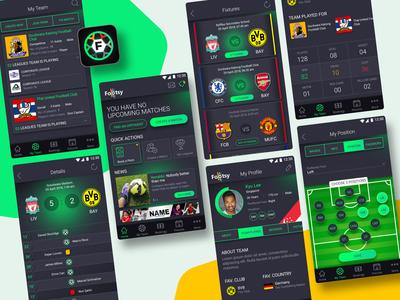 Footsy App - For football players & teams