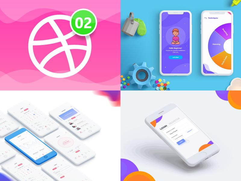 My top 4 in 2018 design iphonex app ux ui