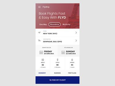 Flight Travel Booking