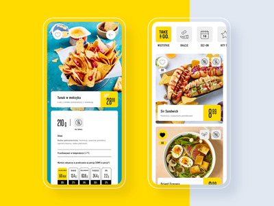 Take&GO cashier-less convenience store app qrcode foodie mobile groceries shopping cashier-less app convenience store food shop ui  ux ui