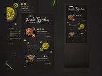 Food UI - Touchscreen Kiosk