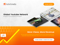 Viral Media Homepage Concept
