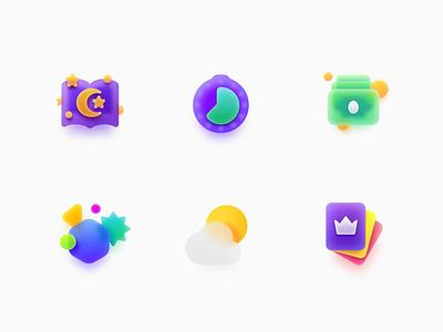 Icons for Capsule branding ui cloud numicor design illustrations icons illustration icon