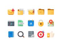 Medium-Sized Icons