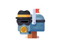 Anonymizer Icon / Illustration