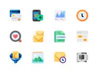 Medium-Sized Icons, part 1