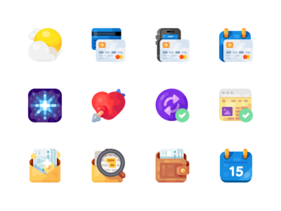 Medium-Sized Icons, part 3