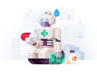 Robo Mascot for VseApteki