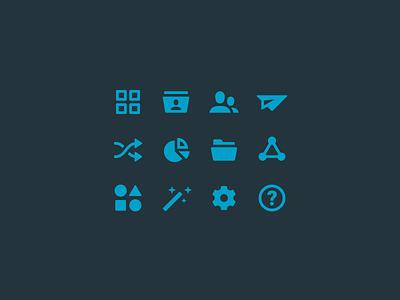 Web App UI – Icons icon set app icon navigation ui user experience user interface ux web app