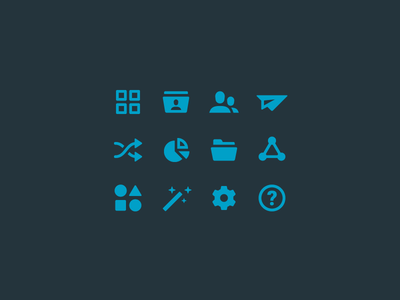 Web App UI – Icons icon set app icon navigation ui user experience user interface ux web app