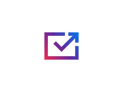 Email Marketing mark identity branding gradient symbol email logo icon