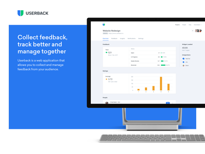 Userback web app app user experience user interface ux ui