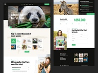 RightCause - Charity and Donation Theme rightcause animals colorful landing page landing design modern ux ui wordpress theme donation fundraising charity