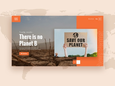 RightCause - Charity and Donation Theme layout slider landing page landing wordpress theme design ux ui modern save the planet save the earth fundraising donation charity right cause