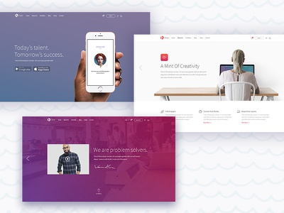 Hue WP Theme mikado-themes hue clean multipurpose modern creative agency business theme wordpress
