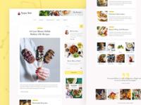 Recipes - A Food Blog