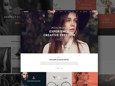 Moose - Creative Multi-Purpose Theme design elated-themes creative moose theme wordpress